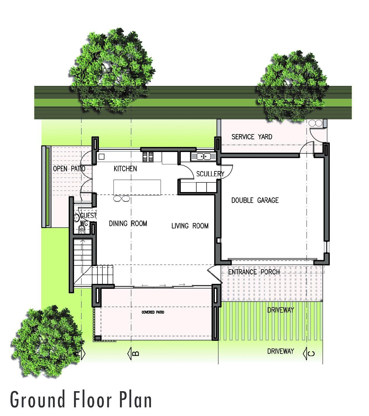 3 Bedroom Freestanding House for Sale- Zululami Estate- Type 1